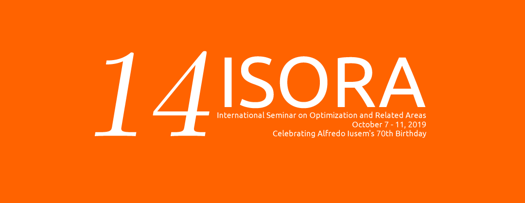 IMCA: 14 ISORA International Seminar on Optimization and Related Areas