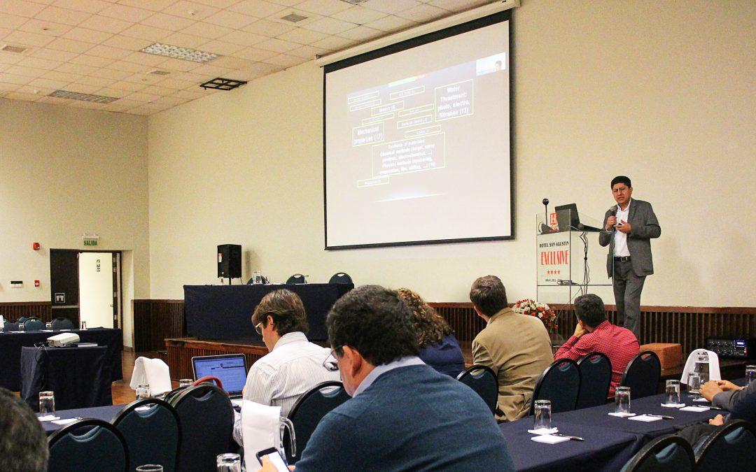Taller de vinculación de investigadores Perú – Brasil sobre ciencia de los materiales