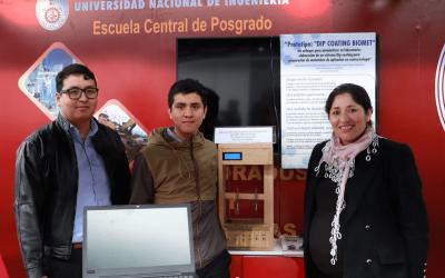 Dra. Pastrana participa en Feria Tecnológica con prototipo inteligente portátil que genera recubrimientos por inmersión