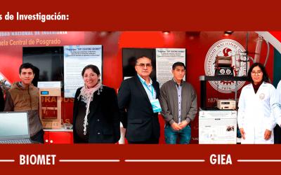 Nuestros REGINA participaron de la feria del III Congreso Tecnológico Internacional del IESTP De Las Fuerzas Armadas