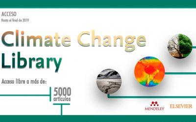 Climate Change Library, 5000 artículos de libre acceso