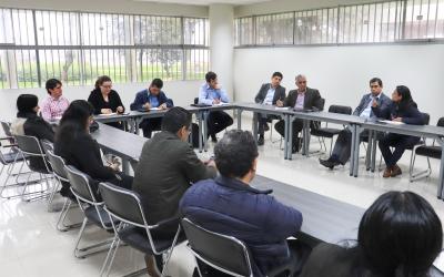 CEMAT recibe visita de centro de energía y materiales de Brasil