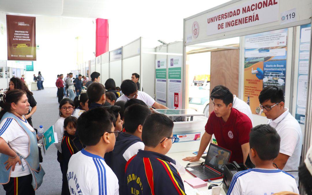 Tres inventos UNI concursan en Expo Patenta 2019 organizado por Indecopi