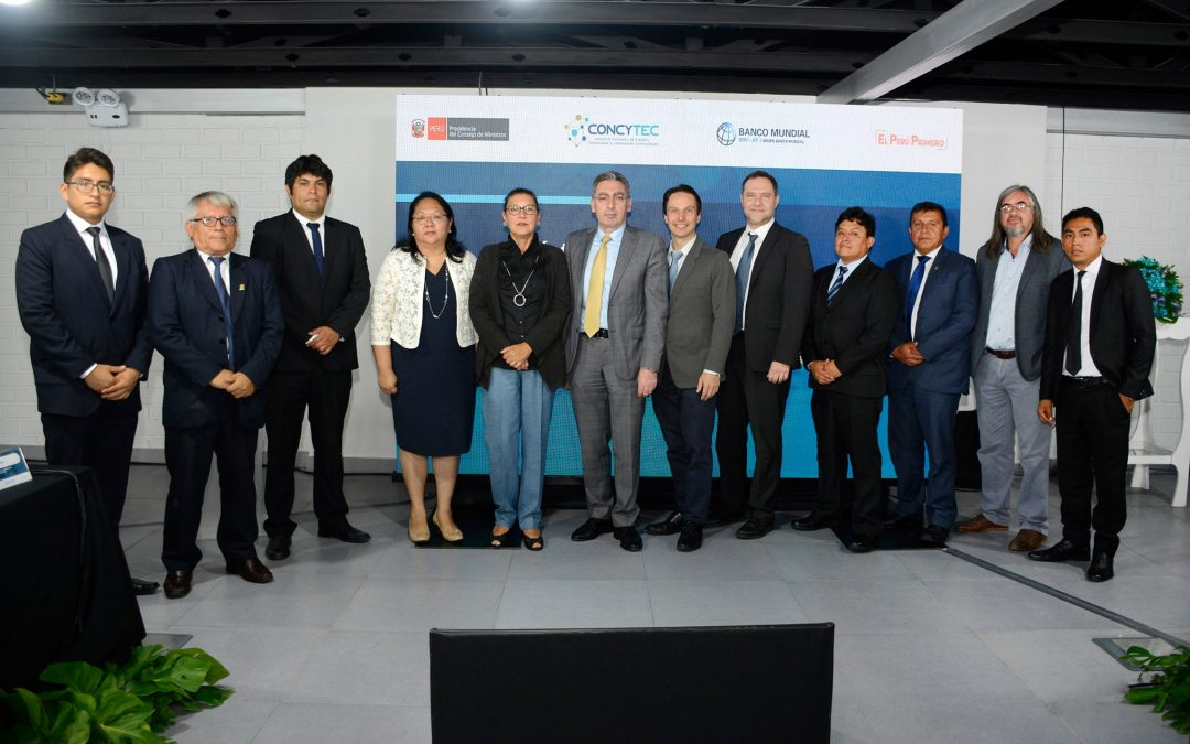 Investigador UNI, Mario De la Cruz, presenta proyecto financiado por CONCYTEC y Banco Mundial
