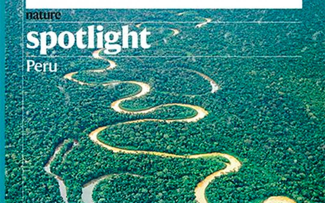 Entrevista al Dr. Juan Rodríguez por la revista Nature Spotlight on Peru