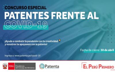 CONCURSO ESPECIAL DE PATENTES FRENTE AL COVID-19
