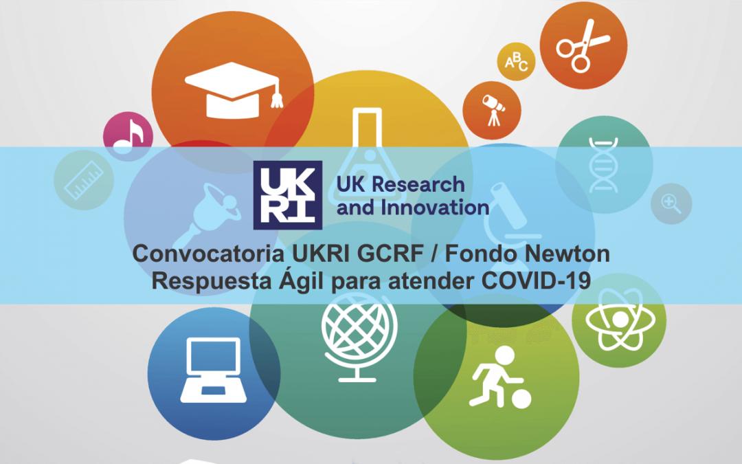UK Research and Innovation y Newton Fund financian proyectos de respuesta al Covid-19