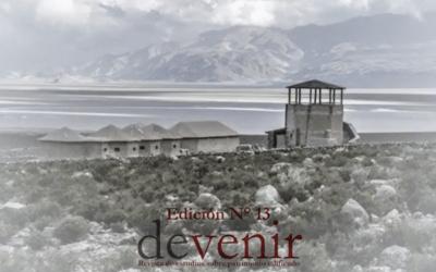 FAUA publica el décimo tercer número de la Revista DEVENIR en formato digital