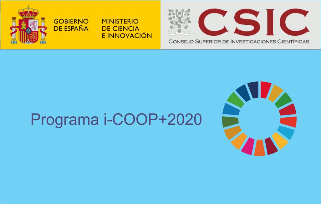 Programa CSIC de cooperación científica para el desarrollo Convocatoria 2020