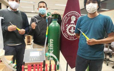 """UNI: Crean novedoso """"VentUNI"""", dispositivo complementario al oxigenador no invasivo"""