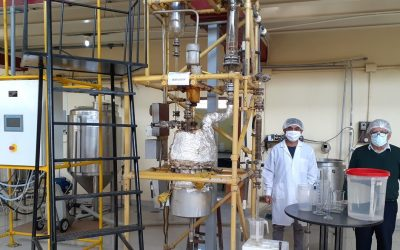 COVID-19: La UNI produce su propio alcohol y alcohol gel para sus protocolos de prevención