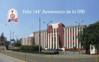 144 años de la UNI, investigando al servicio del país. VRI destaca progreso de indicadores