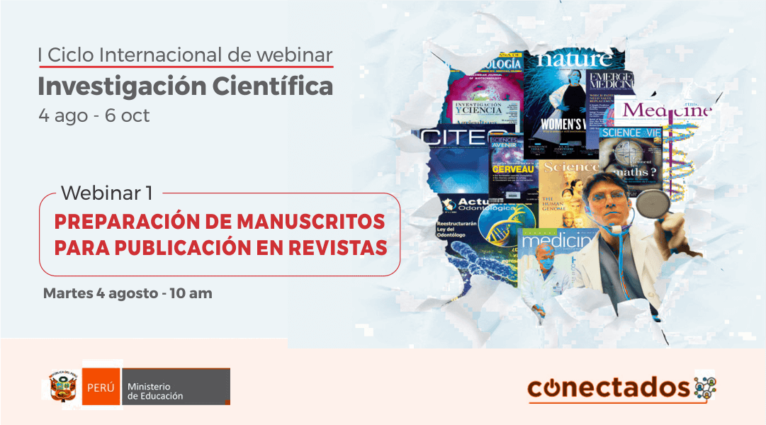 MINEDU impulsa primer Ciclo Internacional de Webinars sobre Investigación Científica