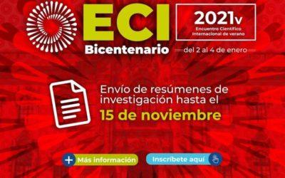 Concytec convoca al Encuentro Científico Internacional Bicentenario de verano