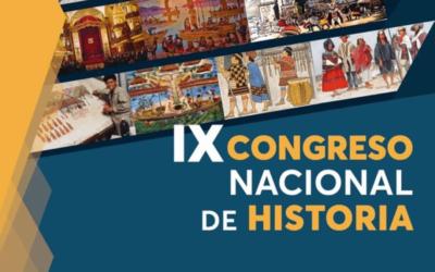 Simposio Historia de la Ciencia y la Tecnología en el marco del IX Congreso Nacional de Historia