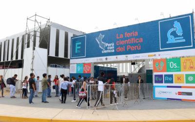 ¡Inscríbete en la Feria Científica Perú con Ciencia de Concytec! Será del 30 de nov. al 9 de dic.