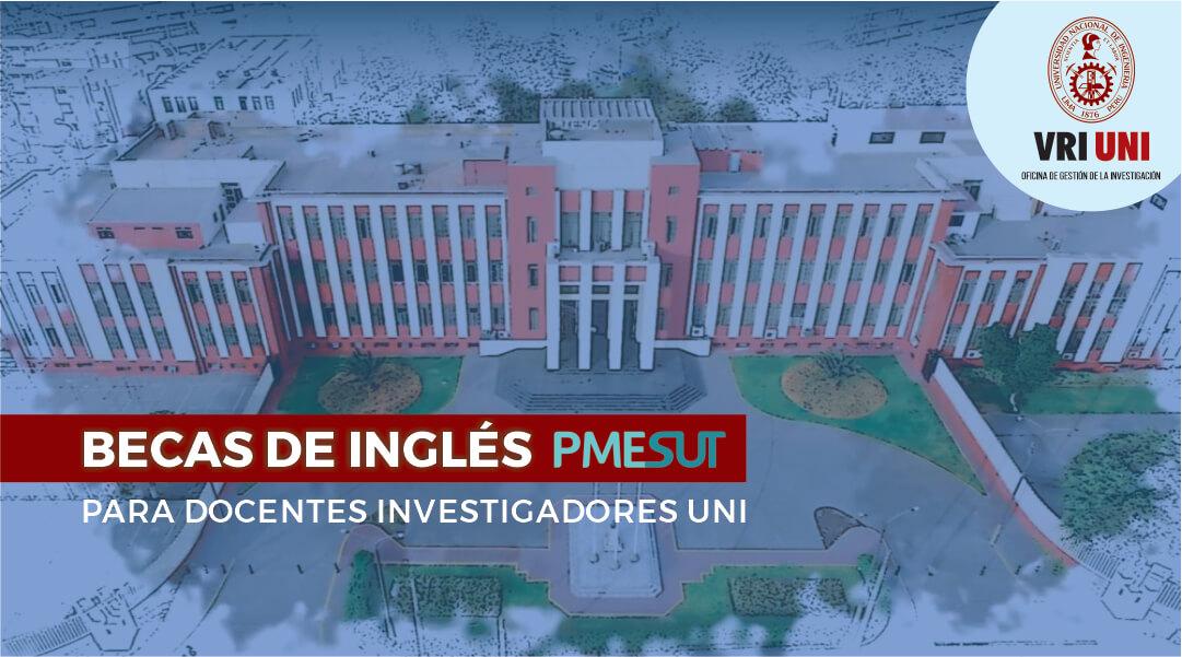 Extienden plazo para postular a Becas de Inglés orientado a docentes investigadores calificados