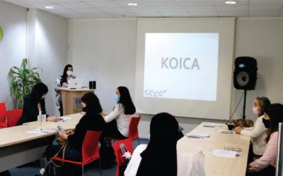 KOICA y CONCYTEC lanzan Programa TRAIN THE TRAINER dirigido a los docentes emprendedores