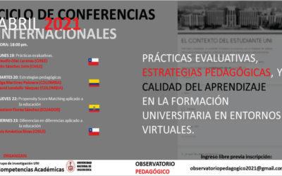Grupo de Investigaciones Académicas UNI organiza ciclo de conferencias internacionales virtuales