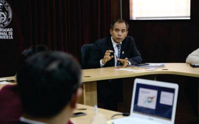 Promueven reunión con KOICA para fortalecer la capacidad de innovación y emprendimiento en la UNI