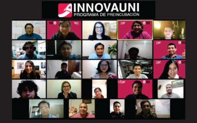 Incubadora de negocios Startup UNI realiza Demo Day del Programa de Pre-incubación Innova UNI