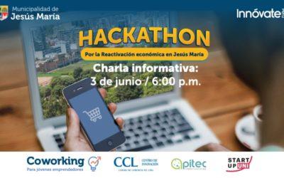 Municipalidad Jesús María y UNI lanzan convocatoria para la Hackathon por la reactivación económica