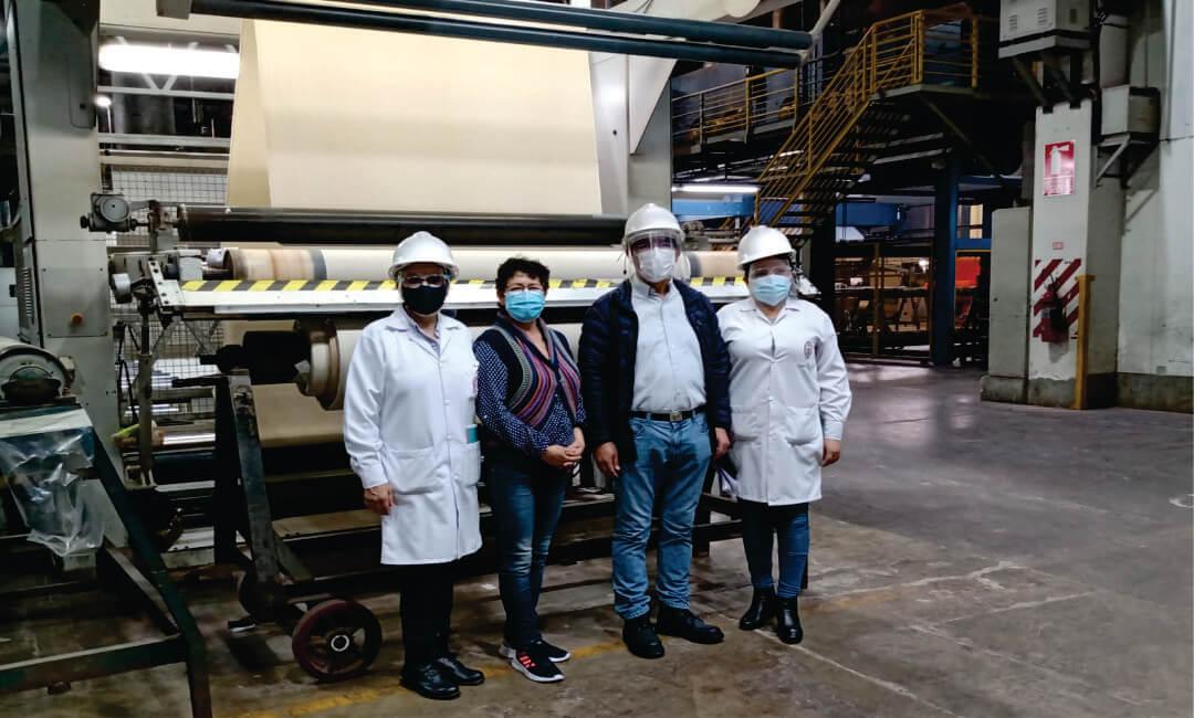 Inicia producción industrial de telas antivirales y antimicrobianas creadas por científicos de la UNI